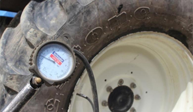 pneu tracteur sans pression