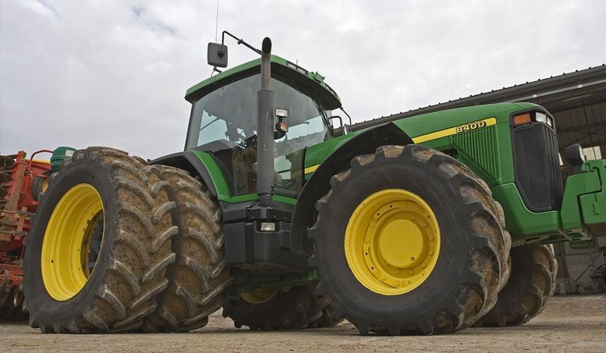 roues jumelées de tracteur