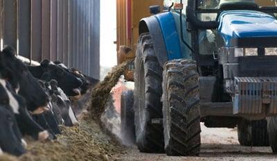 Pneu polyculture pour l'élevage