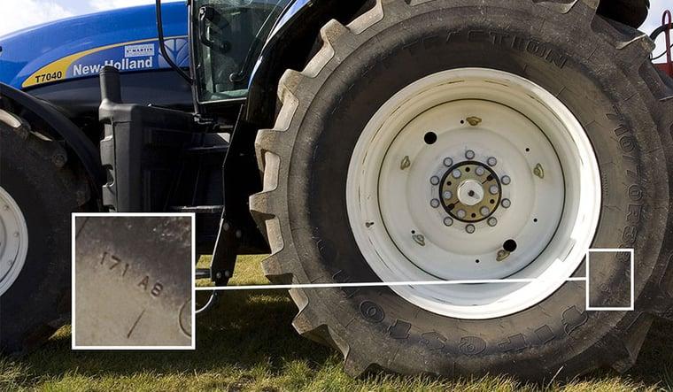Indice de charge de pneu de tracteur