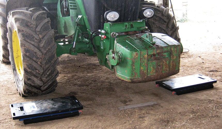 lestage du tracteur agricole
