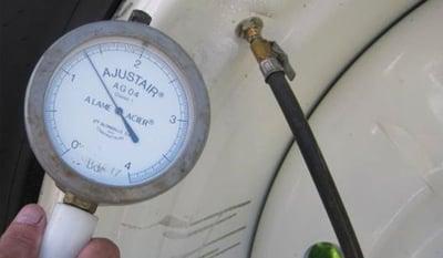 réglage de la pression pneu agricole